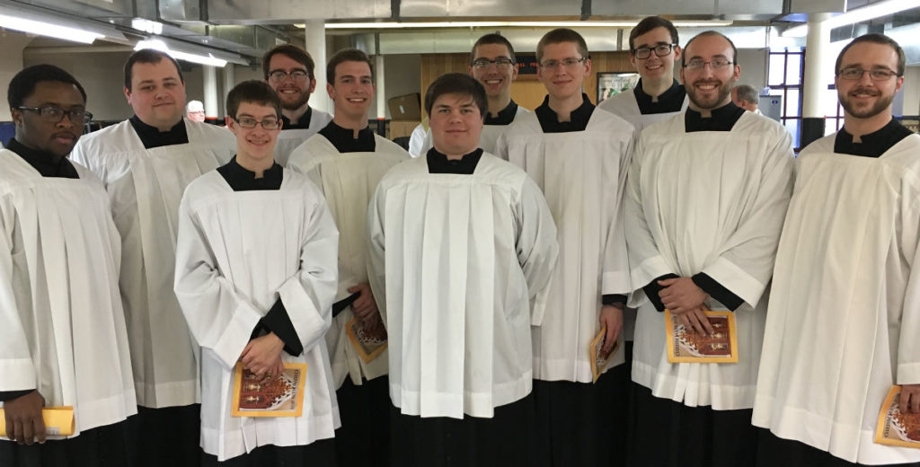 Our seminarians work hard to learn spiritual, moral, liturgical, and other subjects so that they can be excellent pastors to the people of the Church.